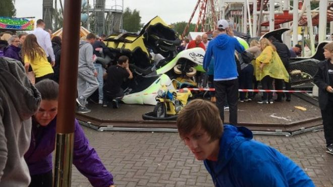 M&Ds Motherwell theme park fined £65,000 over Tsunami ride crash