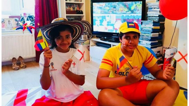 world cup 2018 colombian mum says i ll support england bbc news