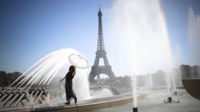 França se prepara para onda de calor de 40°C, pode quebrar registros de Junho