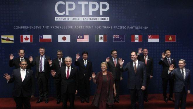 Việt Nam đã ký Hiệp định đối tác Toàn diện và Tiến bộ xuyên Thái Bình Dương (CPTPP), thể hiện hội nhập quốc tế