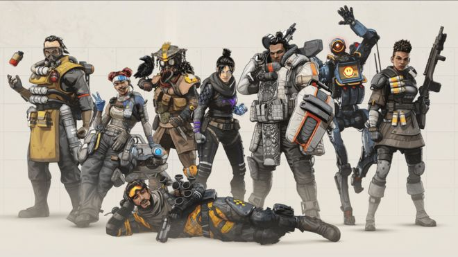 Apex Legends V Fortnite The Battle For Battle Royale Bbc News
