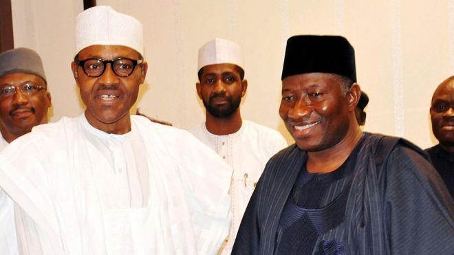 Buhari ati Jonathan n ki ara wọn
