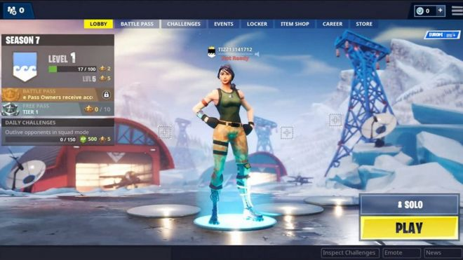 epic games fortnite download for windows 7