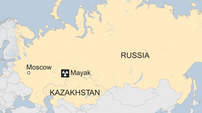Kazakhstan Russia Map.Russia Denies Nuclear Accident After Radioactive Traces Found Bbc News