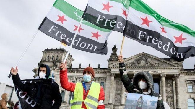 بدأ النزاع في سوريا قبل عشر سنوات بعد قمع الاحتجاجات السلمية المطالبة بالديمقراطية