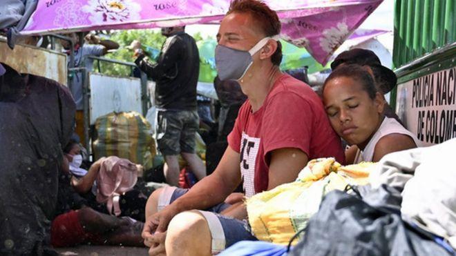 Venezolanos regresando