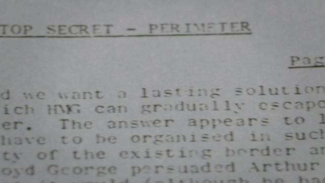 The Troubles: Army chief's secret memo called for NI 'escape