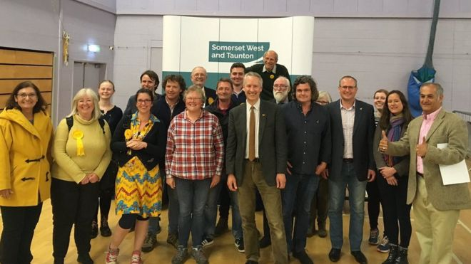 Election results: Lib Dems win Somerset West and Taunton