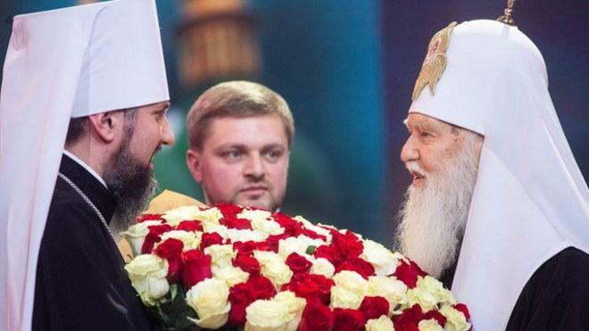 ПЦУ не вынесет двоих. Выдержит ли новая украинская церковь ссору Филарета и Епифания?