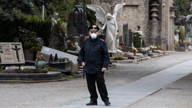 Полицейский в Италии