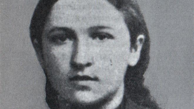 Российская революционерка Вера Засулич (1866 год)