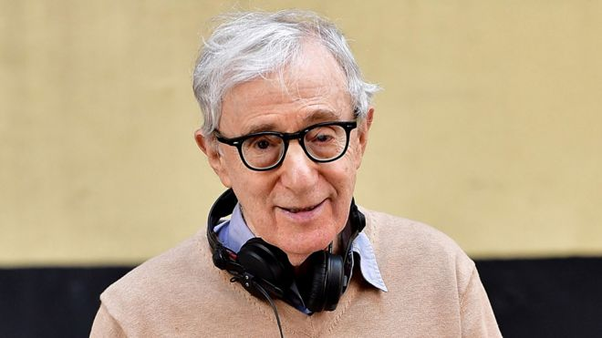 Amazon defends cancelling Woody Allen film deal - BBC News
