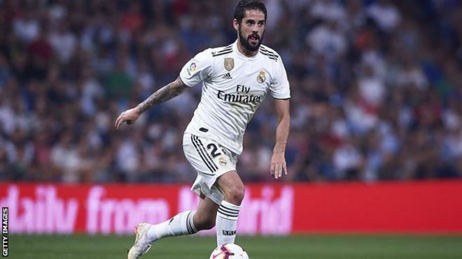 Real Madrid: Isco na fama da cutar appendicitis - BBC News Hausa