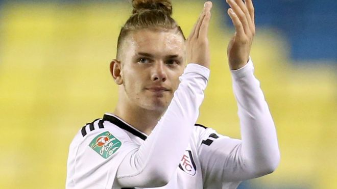 Harvey Elliott Meet Fulhams Youngest Ever Mature Player Bbc News