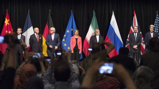 اعلام توافق هستهای ایران و کشورهای ۱+۵