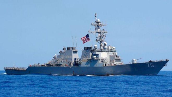 El USS Donald Cook es uno de los destructores estadounidenses desplegados en el Mar de Barents.
