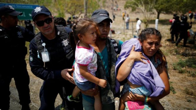 Image result for violence to Immigrants from mexico