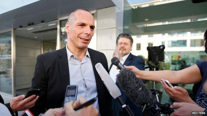 "Greece""s Finance Minister Yanis Varoufakis"