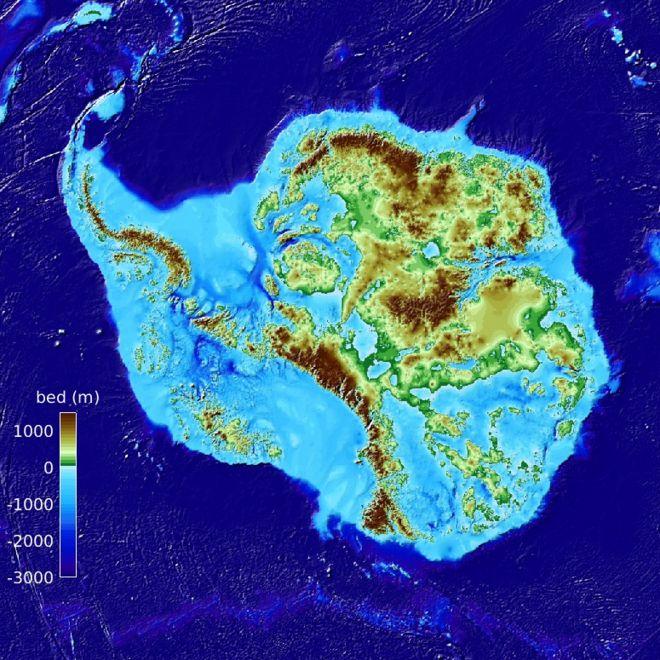 Виявили найбільшу западину на Землі