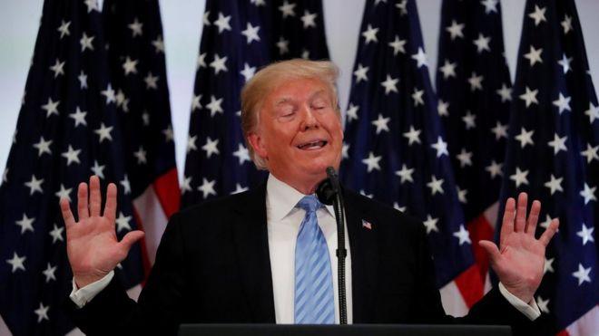 Ông Trump vừa có cuộc họp báo vào ngày 26/9