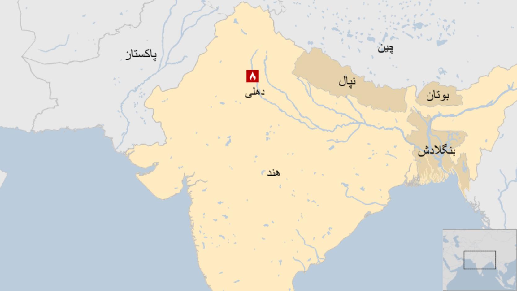 آتش سوزی در یک کارخانه در هند بیش از ۴۳ کشته بر جای گذاشت