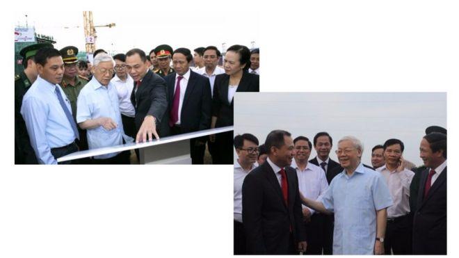 Truyền thông Việt Nam đưa hình ảnh về chuyến thăm