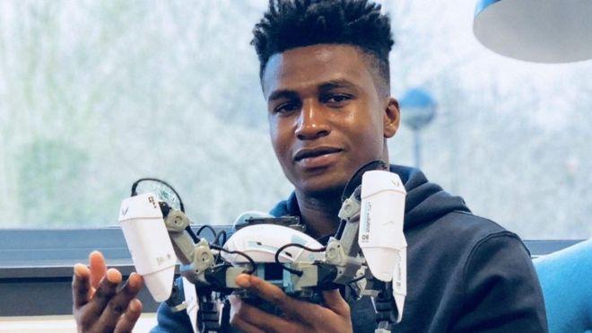 Silas Adekunle Dis Nigerian Na Di World Highest Paid Robotics