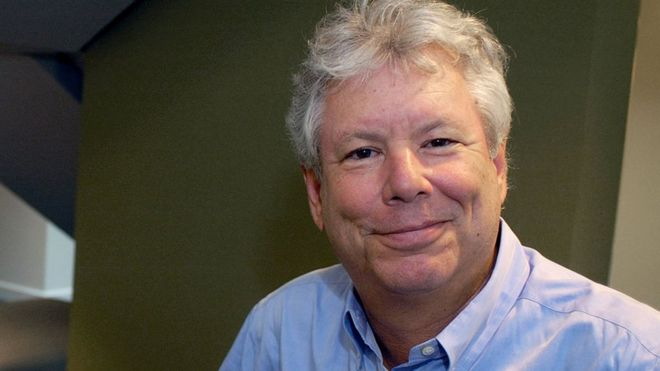 "Prof Thaler is a pioneer of ""nudge theory"" about how people make bad decisions. (c) Reuters"