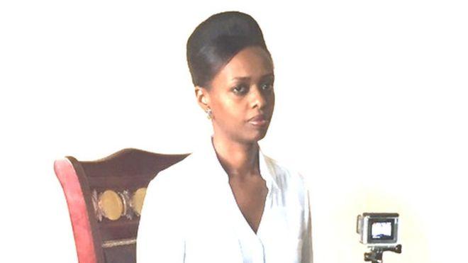 Diana Rwagira ni binti wa mfanyabiashara maarufu wa Kinyarwanda Assinapol Rwigara aliyefariki miaka 2