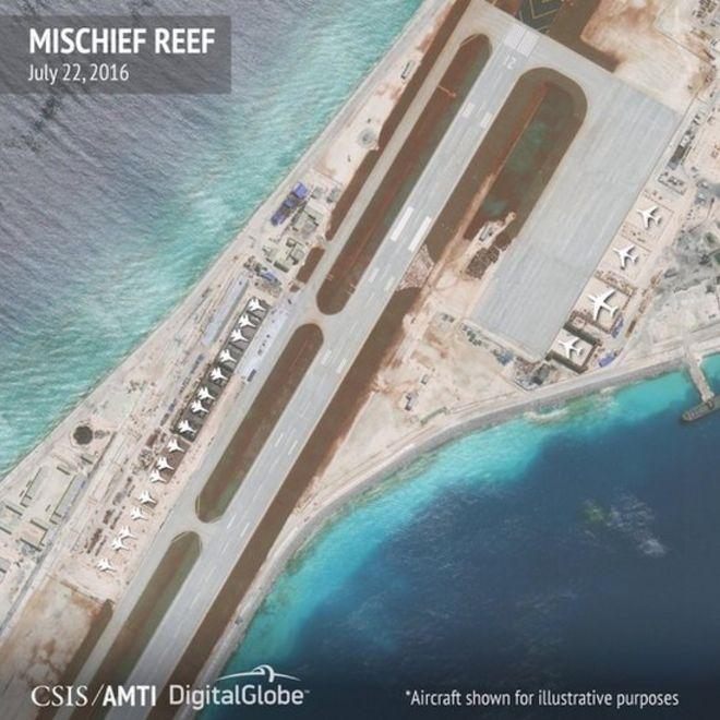 中國南沙群島美濟礁
