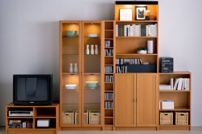 various items from the billy bookcase range image copyright ikea - Ikea Billy Bookshelves