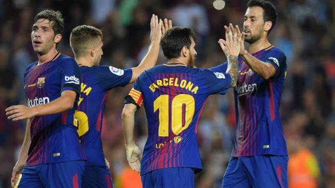 Barcelona Ta Gagara A Gasar La Liga Ta Bana Bbc News Hausa