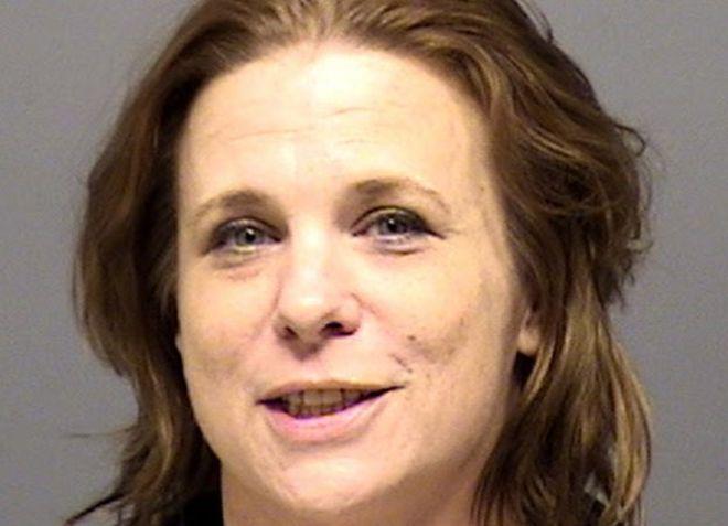 Melissa Ann Blair, 46, is seen in this county jail photo.