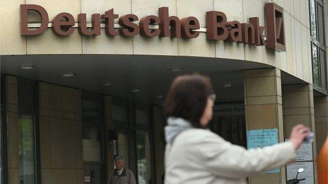 Deutsche Bank Shares Soar 11 On Bond Buyback Speculation Bbc News