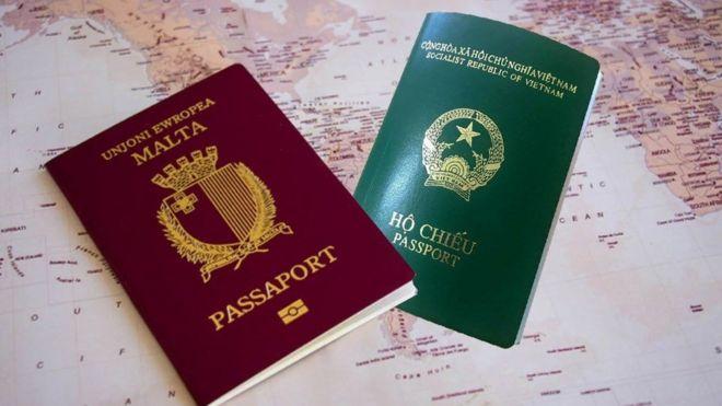 Hộ chiếu Malta có quyền lực hơn nhiều lần hộ chiếu Việt Nam