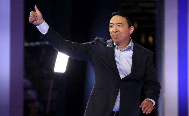 Andrew Yang: The 'Asian math g...