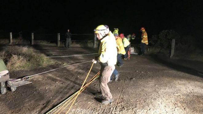 На Гавайях человек упал в кратер действующего вулкана и выжил