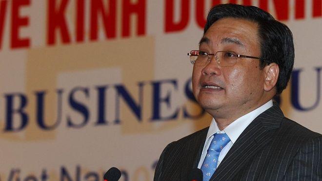 Ông Hoàng Trung Hải từng là phó thủ tướng từ 2007 tới 2016