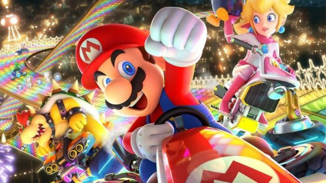 mario kart Mario Kart mobile delayed until summer 2019   BBC News