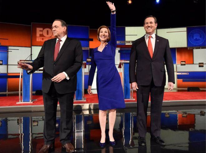 Три кандидата в андеркарте
