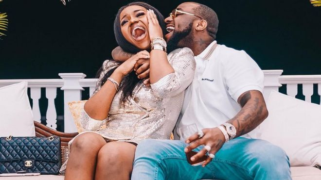 Davido and Chioma introduction: Nigerians react to tori say