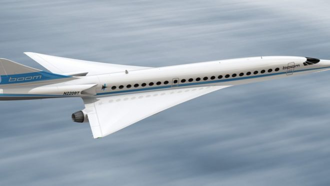 Quiet Concorde Aims To Revive Supersonic Air Travel