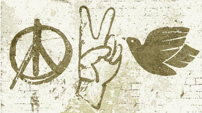 de dónde viene el símbolo de la paz bbc news mundo