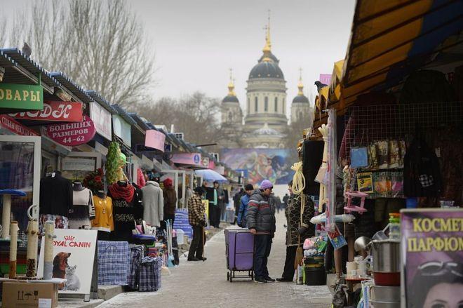 Церква і ринок в Донецьку