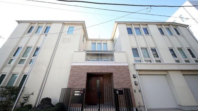 المنزل الذي كان يحتجز فيه غصن في اليابان