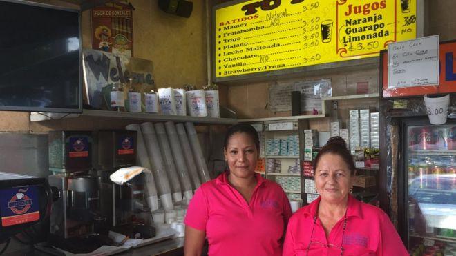 Dependientas de Tu Pan, cafetería de Hialeah