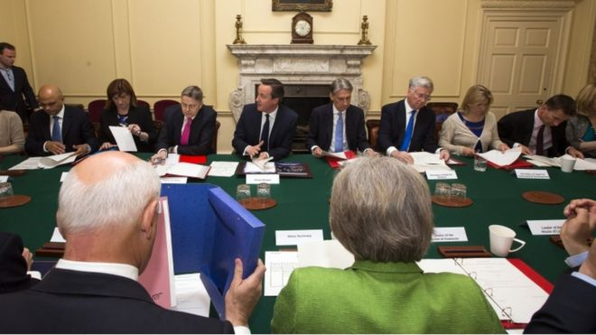 Дэвид Кэмерон проводит заседание правительства (фото из архива)