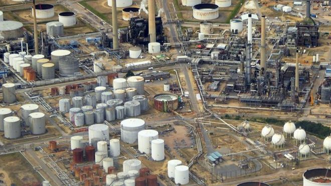 Fawley Oil Refinery £500m upgrade planned by ExxonMobil - BBC News