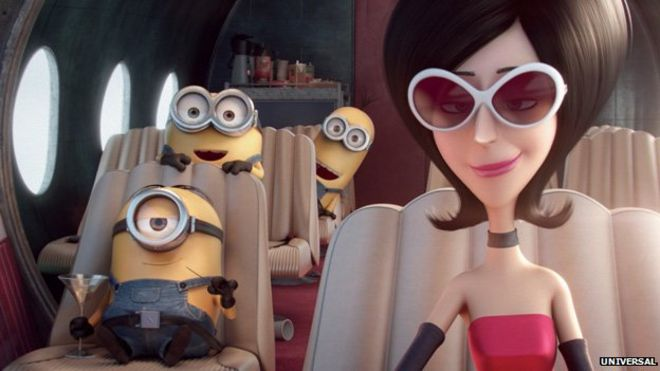 Sandra Bullock: 'I did Minions movie for my son' - BBC News