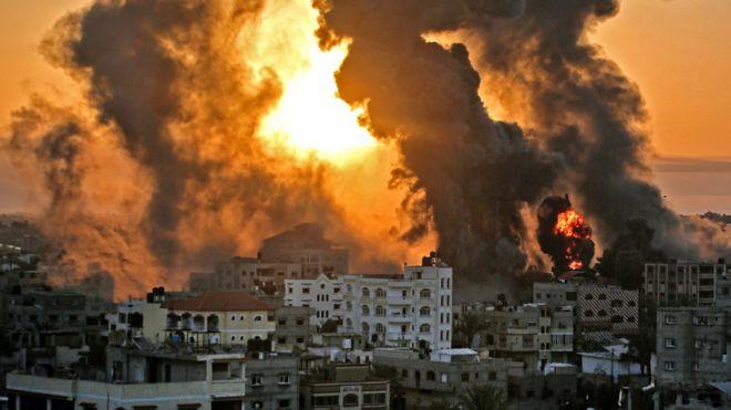 Conflicto entre israelíes y palestinos: las imágenes de los ataques entre  Gaza e Israel - BBC News Mundo